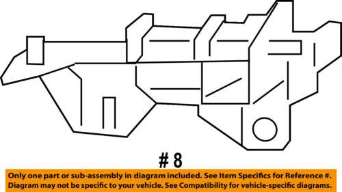 CHRYSLER OEM 11-14 200 Front Bumper-Bracket Left 68381153AA