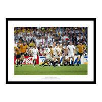 Jonny Wilkinson Drop Goal 2003 Rugby World Cup Final Photo Memorabilia (917)