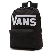 VANS Backpack Old Skool III Black White Skateboard Surf School Bag