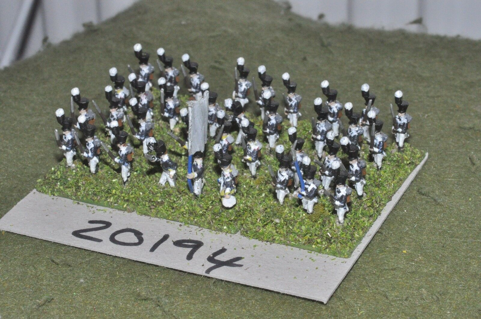 15mm napoleonic   prussian - infantry 36 figs - inf (20194)
