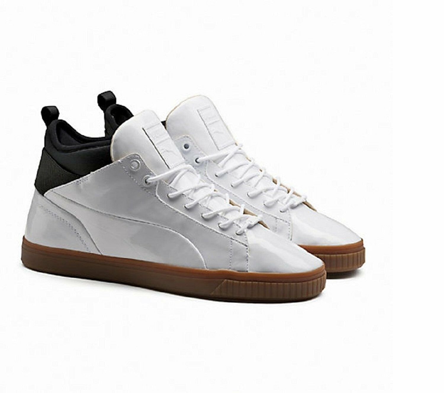 Puma Mens Play Nude Shoes White 361469 Brand discount