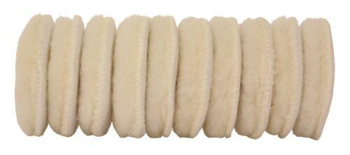 10 pièces Cleanproducts peau LAINEE-polierpad blanc 80 MM