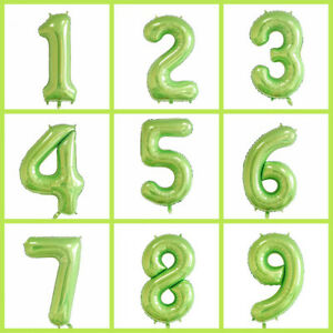 40Inch-Number-Of-Aluminum-Foil-inflatable-Balloons-Party-Birthday-Wedding-Digit