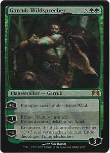TCG-53-MtG-Magic-the-Gathering-Garruk-Wildsprecher-Xbox-Promo-Foil-Deutsch
