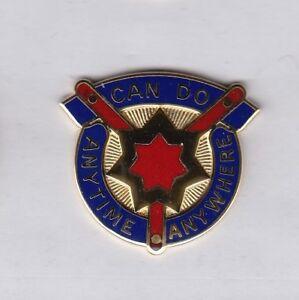 88th Regional Support Command RSC Supply ARCOM QM crest DUI badge G-23