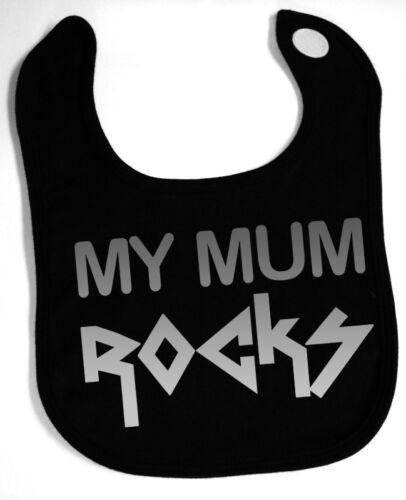 MY MUM ROCKS Black Babylatz