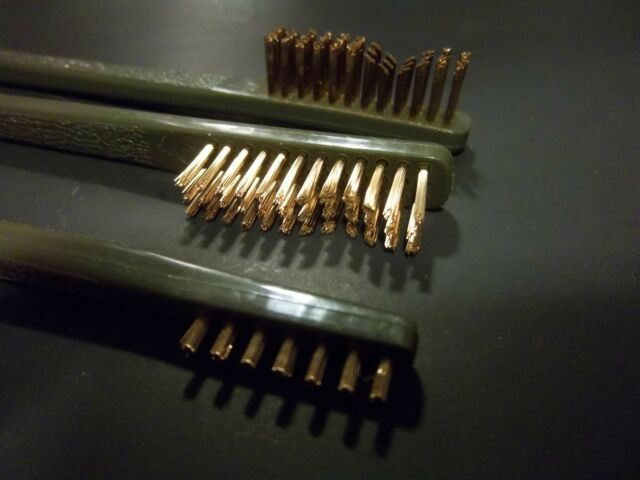 BIN=1 Buy 2 get 1 free Brass Brush Double ended Coin cleaning , BEST PRICE EBAY
