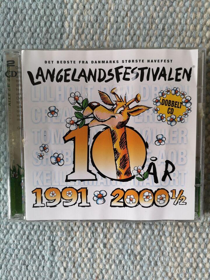 Blandet: LANGELANDSFESTIVALEN 10 ÅR 1991-2000 1/2, andet