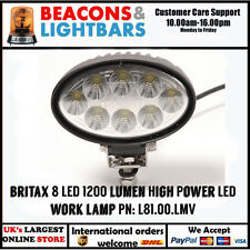 Britax 8 LED 1200 Lumen High Power LED Work lamp PN: L81.00.LMV