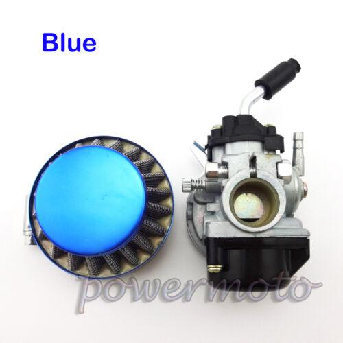 Aftermarket Carburetor Dellorto Style SHA 14mm Carb Air Filter Sprint Colibri