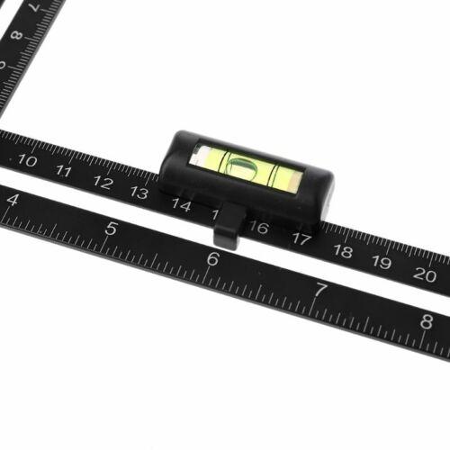 Aluminum Alloy Multi Angle Measuring Ruler Positional Locator Trepanning Outil