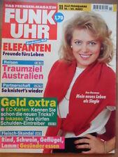 FUNK UHR 11 - 1995 4* TV: 18.-24.3. Eva Herman Elefanten Götz George