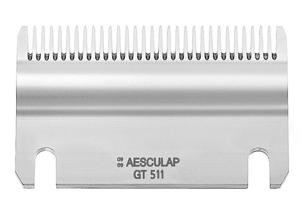 Aesculap Schermesser GT511 - 31 Zähne Untermesser, Schneidplatte, Unterplatte