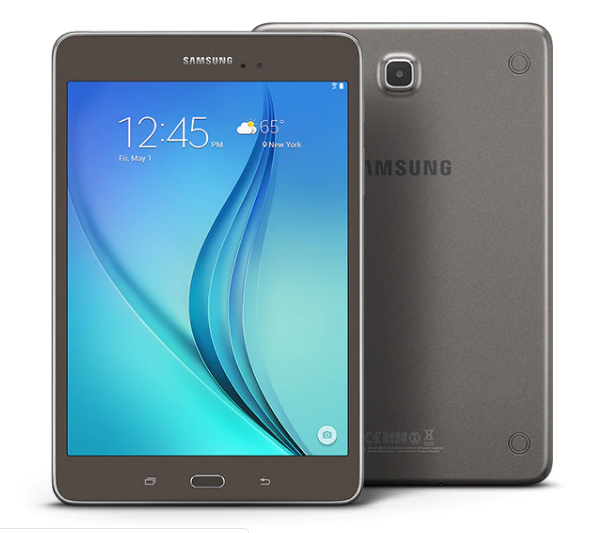 "Samsung Galaxy Tab A  8"" (SM-T350NZ)-16GB, Wi-Fi - Titanium Gray- 8 Inches"
