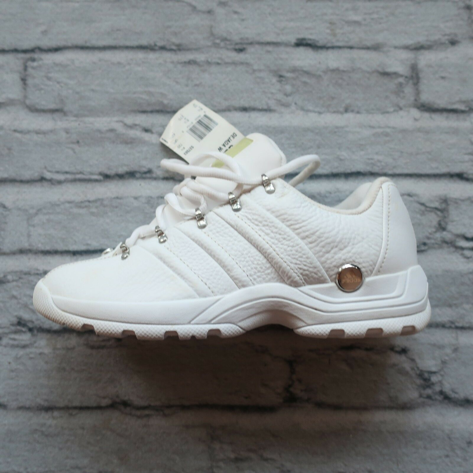 New 2004 Adidas Dejada shoes Size 10 White Vtg Trainers