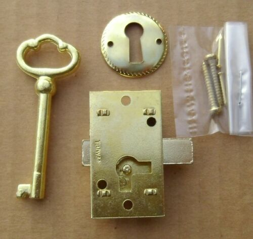 Cabinet Door Lock Set Key Curio Grandfather Clock China Jewlery NEW Replacement