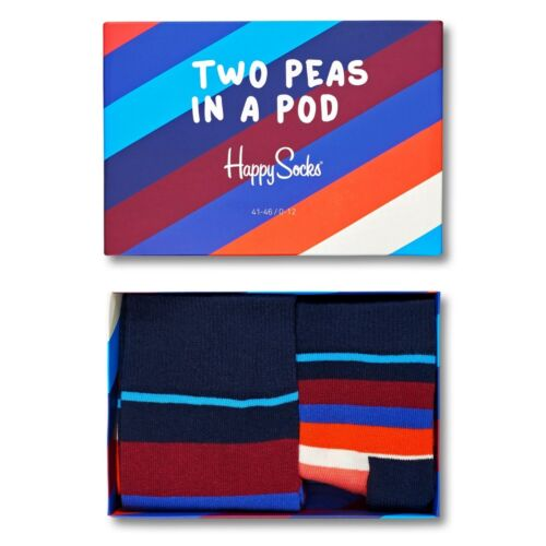 Happy Socks Two Peas In a Pod Mum /& Baby 2 Pair Matching Socks Gift UK 4-7 0-12M