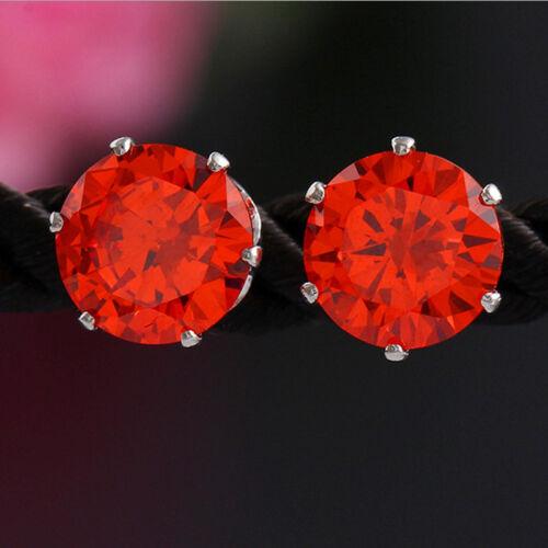 Vente chaude style 2 Paires Piercing magnifique Goujon Femme Cristal Boucles D/'Oreilles Cadeau