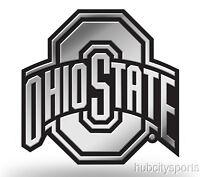 Ohio State Buckeyes Logo 3d Chrome Auto Decal Sticker Truck Car Rico