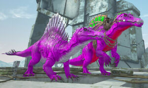 Ark-Survival-Evolved-Xbox-One-PvE-Color-Mutated-Aberrant-Spino-Breeding-Pair