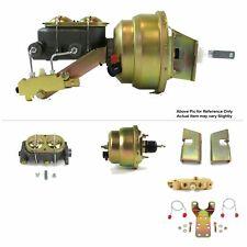1963 66 Chevy Truck C10 Firewall Mount Power 7 Dual Brake Booster Kit Discdrum