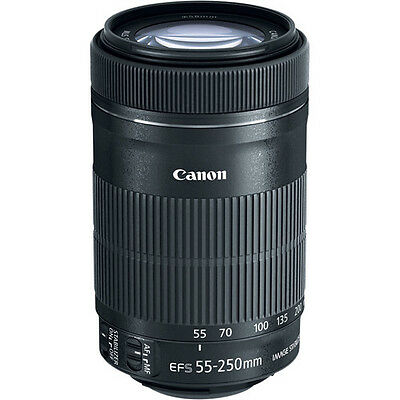 Canon EF-S 55-250mm f/4-5.6 IS STM Lens for Canon Digital SLR Cameras
