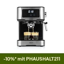 BEEM Siebträgermaschine Espressomaschine Milchschaumdüse 15 Bar Touch