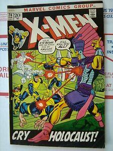 X-MEN-74-MARVEL-COMIC-1972-NICE-XMEN-X-MEN-74