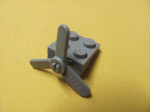 @@ GREY @@  GRIS x1 LEGO 2421 @@ Propeller 3 Blade Small