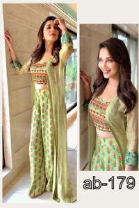 Madhuri Indowestern Dress Plazzo Crop Top Designer Lehanga Wedding Wear Indian Ebay,Pakistani Bridal Wedding Dresses For Girls 2020