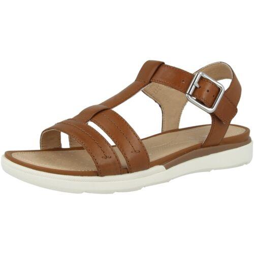GEOX D S.Hiver B Schuhe Damen Sandalen Freizeit Sandaletten D02GZB00043C6001