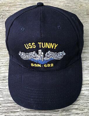 USS Drum SSN 677 Ball Cap Direct Embroidered US Navy Vet Submarine Veteran Hat