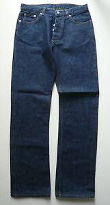 Helmut-Lang-Jeans-Gr-29-dunkelblau-gerades-Bein-Damen-Hose