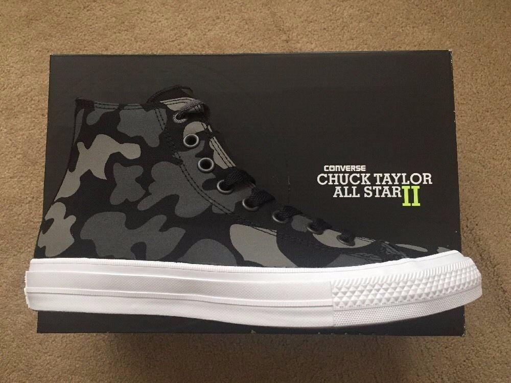 Nouveau Converse Chuck Taylor Tous Star II Camouflage Baskets montantes Homme Femme Unisexe