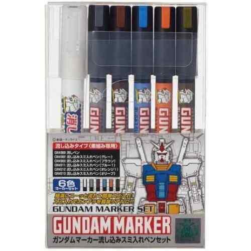 GSI Creos Mr.Hobby Gundam Marker Pouring Set