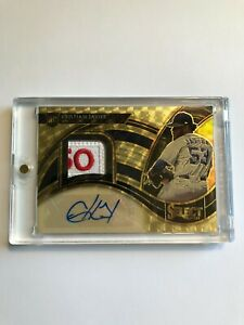2021 SELECT CRISTIAN JAVIER RPA 1/1 ONE OF ONE GOLD VINYL RC HOUSTON ASTROS TAG
