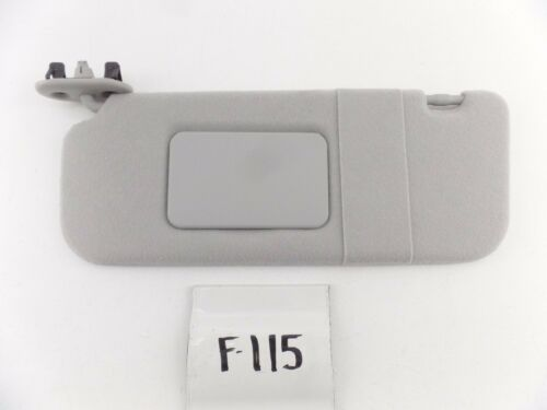 NEW OEM GM NOS SUN VISOR PONTIAC VIBE TOYOTA MATRIX COROLLA LH 03-08 grey cloth