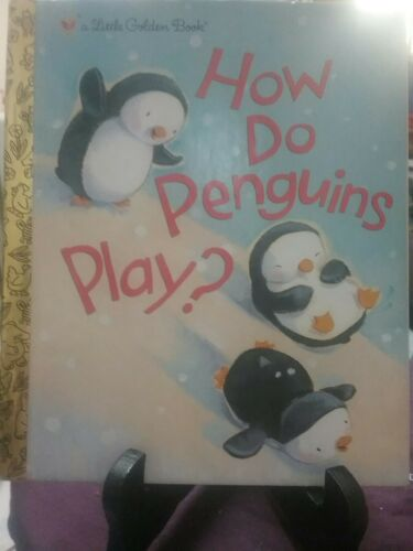 1 of 1 - HOW DO PENGUINS PLAY? by Elizabeth Dombey, David Walker (Hardback, 2011)  VGC