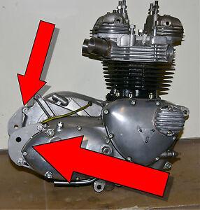 TRIUMPH-650-unit-rear-MOTOR-MOUNTS-bobber-chopper-custom-63-to-70-ENGINE-PLATES