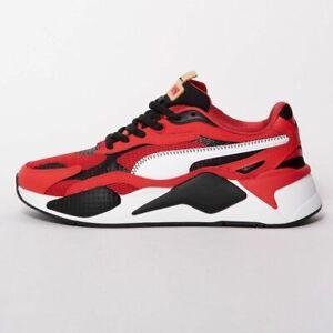 Puma Mens RS-X Red White Trainers | eBay