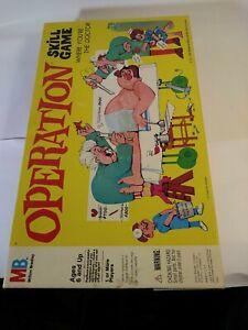 Milton-Bradley-4545-Operation-Game-Vintage-VGUC