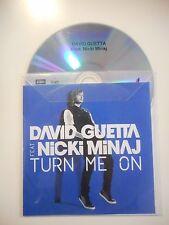 DAVID GUETTA feat NICKI MINAJ : TURN ME ON ♦ CD SINGLE PORT GRATUIT ♦