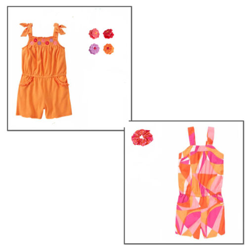 Gymboree Girl 2 pc Set Romper 1 Piece /& Hair Accessory 5 6 NWT Retail Store