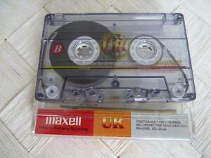 MAXELL UR 60 Audio Cassette Vintage RAR – TOP! - Heilbronn, Deutschland - MAXELL UR 60 Audio Cassette Vintage RAR – TOP! - Heilbronn, Deutschland