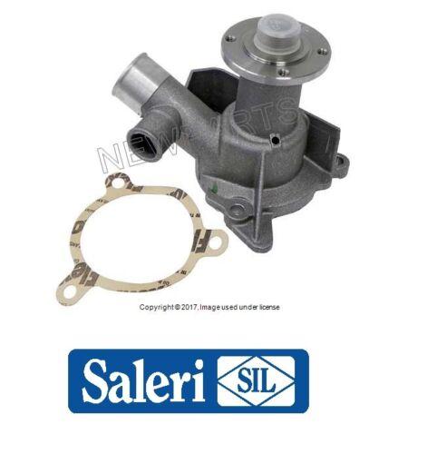 For BMW E28 E30 Water Pump w// Gasket Dual Outlet Composite Impeller OEM SALERI
