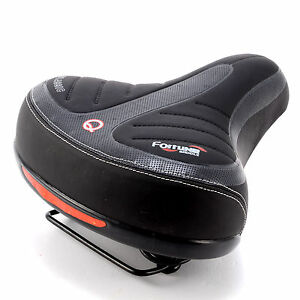 Wide-Big-Bum-Bike-Bicycle-Gel-Cruiser-Extra-Comfort-Sporty-Soft-Pad-Saddle-Seat