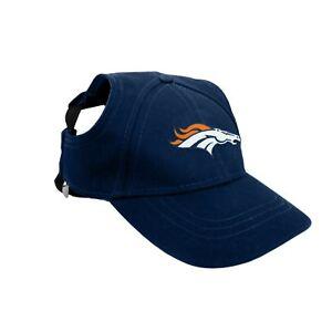 Denver-Broncos-NFL-Licensed-LEP-Dog-Pet-Baseball-Cap-Blue-Hat-Sizes-S-XL