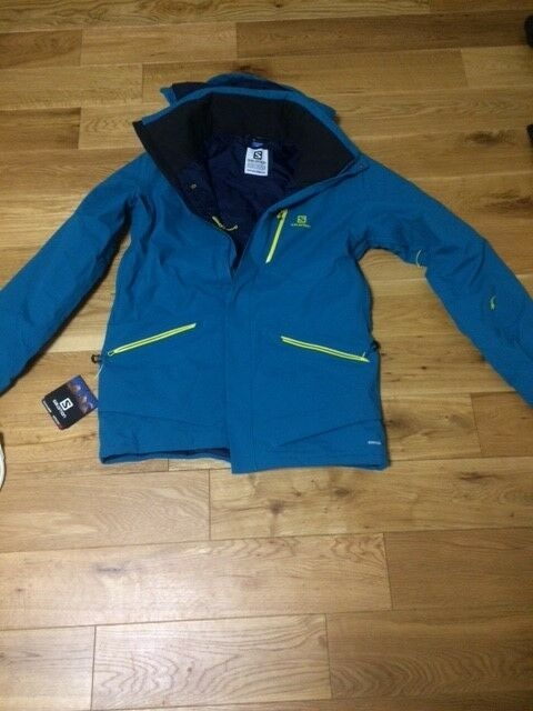 Neu Salomon QST QST QST SNOW Advanced Skin Dry JKT Men M NP 54cbe1