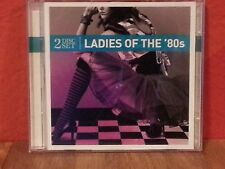 Ladies Of the 80s   CD  2 Disc Set  LIKE NEW  DB957