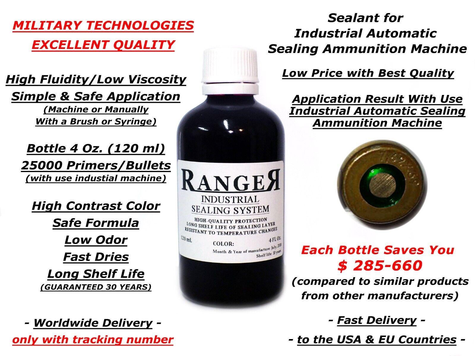Reloading Green Sealant Waterproof Ammo Primer Bullet Sealer to LEE RCBS Hornady